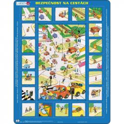 Puzzle Bezpečnosť cestnej doprav 35 dielikov