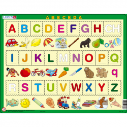 Puzzle ABECEDA s obrázkami 27 dielikov