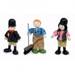 Le Toy Van postavička - Jezdci ke koníčkům