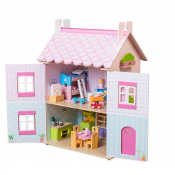 Le Toy Van mój wymarzony domek dla lalek drewniany dom dla lalek