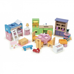 Le Toy Van nábytok - Kompletný set do domčeka Starter