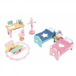 Le Toy Van-Daisylane-Pokój dziecięcy-dla domu dla lalek