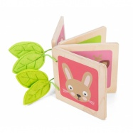 Le Toy Van Petilou - Drevená knižka so zvieratkami