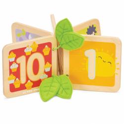 Le Toy Van Petilou Dřevěná knížka počítání