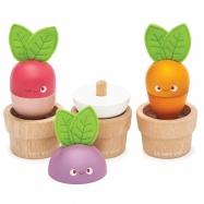 Le Toy Van Petilou kvetináčov so zeleninou