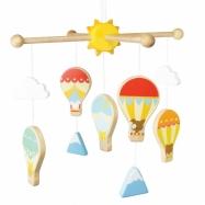 Le Toy Van Petilou závěsný kolotoč horkovzdušné balóny
