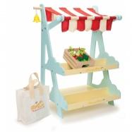 Drewniany sklep, stragan z warzywami Le Toy Van