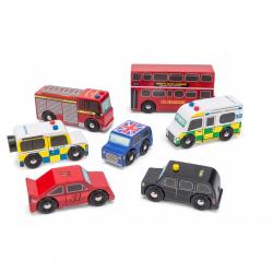Le Toy Van Londyn samochód ustawić zabawka