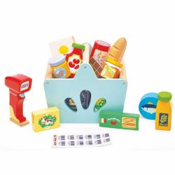 Le Toy Van Košík s potravinami se skenerem
