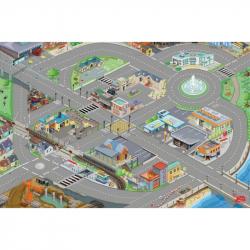Le Toy Van hrací koberec PLAYMAT mesto 80x120cm
