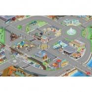 Le Toy Van hrací koberec PLAYMAT mesto 150x100 cm