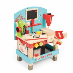 Le Toy Van Môj prvý stôl s náradím