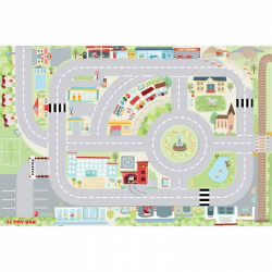Le Toy Van hrací koberec PLAYMAT Moje prvé mesto 80x120cm