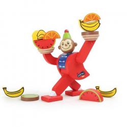 Drevená motorická hra - Balancujúca opička