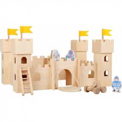 Dřevěný rytířský hrad Natur