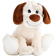 Plyšové bílé štěně