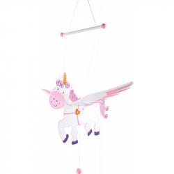Dekorácie - lietajúci jednorožec