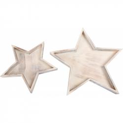 Legler, gwiazdki dekoracyjne - 2 szt