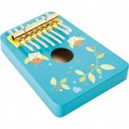 Dětské dřevěné hudební nástroje - Kalimba Sova