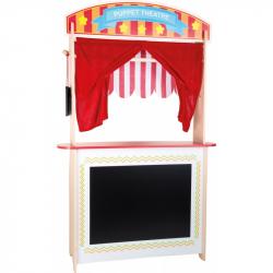 Drevené bábkové divadlo 2v1