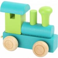 Vláčkodráha - Vláček abeceda - Lokomotiva zelená