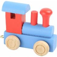 Vláčkodráha - Vláček abeceda - Lokomotiva barevná