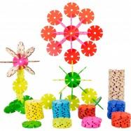 Puzzle dla dzieci Przestrzenne kwiaty Small Foot