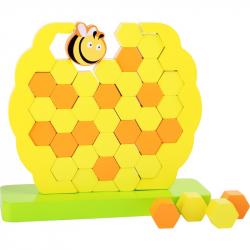 Motorická balanční hračka včelí úl