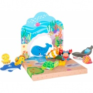 Dřevěná hračka - Podmořský svět