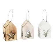 Small Foot Dřevěné vánoční  lucerny 3 ks