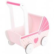 Wózek dla lalek Serduszko