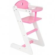 Dřevěná jídelní židlička pro panenku Dream