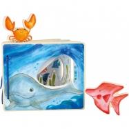 Small Foot Drevená knižka podmorský svet