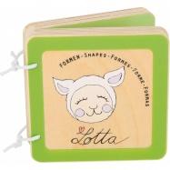 Small Foot Drevená knižka Lotta