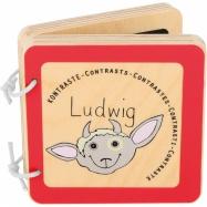 Drevená knižka Ludwig