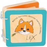 Dřevěná knížka Lex