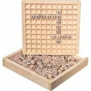 Small Foot Dřevěná hra křížovka