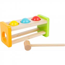Small Foot Dřevěná zatloukačka Rolling Balls