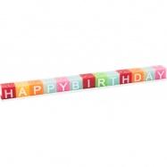 Small Foot Svíčky Happy Birthday