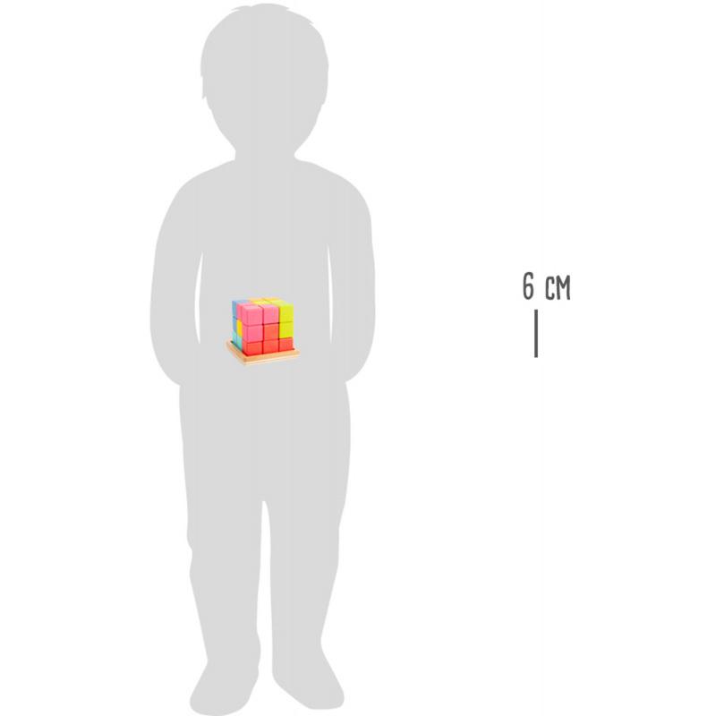 Small Foot Dřevěný 3D tetris