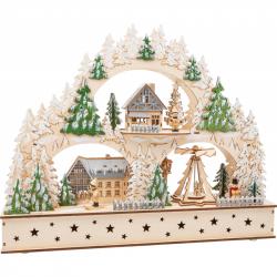 Small Foot Vánoční lampa zimní archa