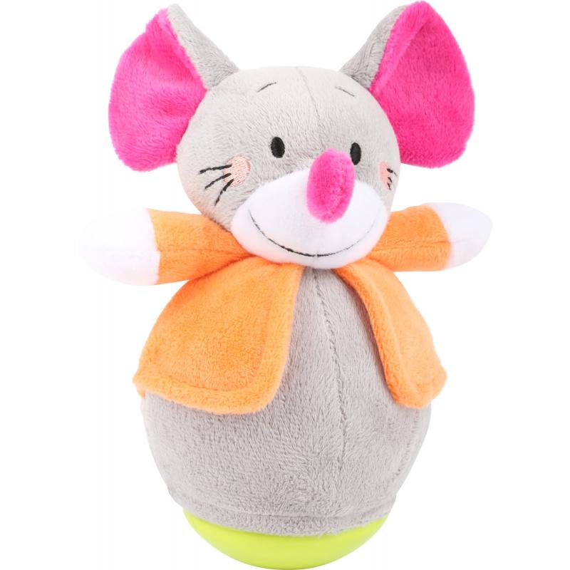 Small Foot Plyšová vrnící myška