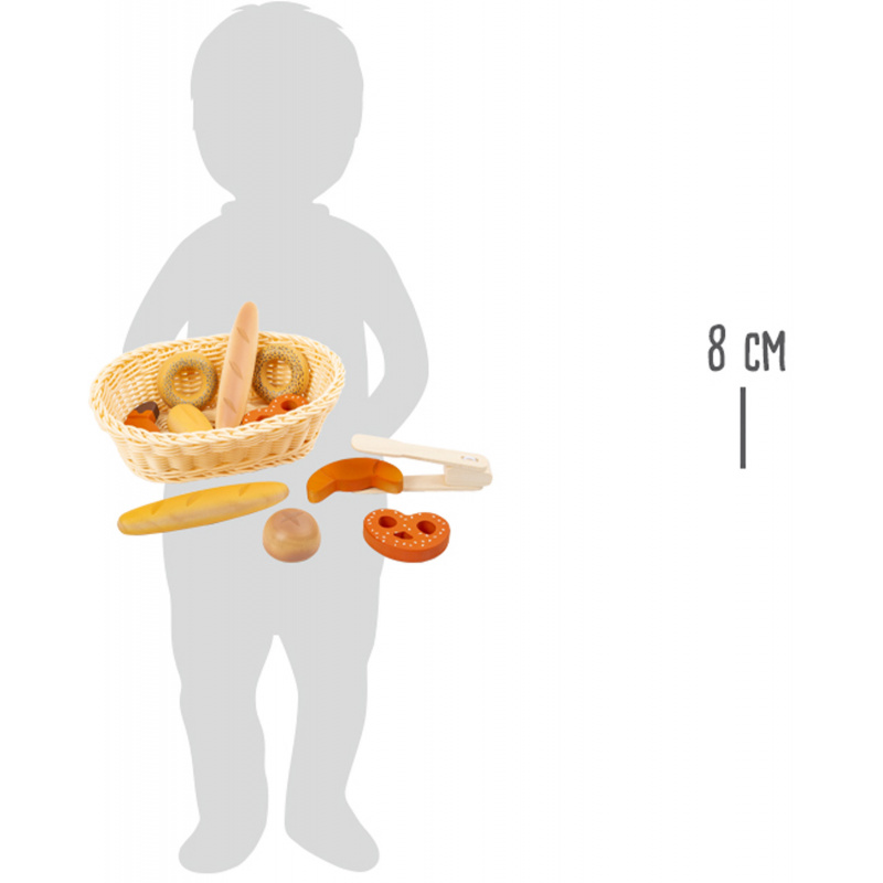 Small Foot Čerstvé pečivo v ošatce