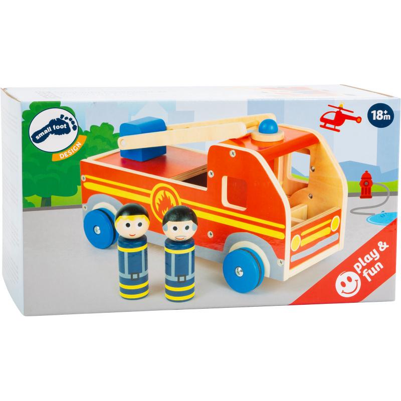 Small Foot Dřevěné hasičské auto XL