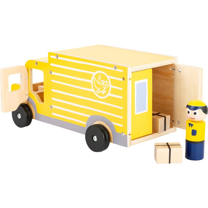 Small Foot Dřevěný vůz přepravní služby XL