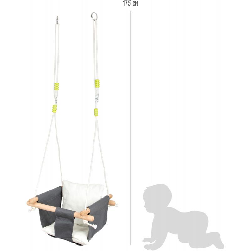 Small Foot Dřevěná hopačka Baby Comfort