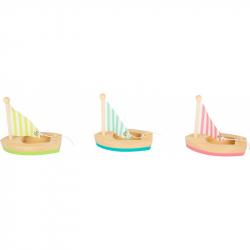 Small Foot Vodné hračka plachetnica 3 ks