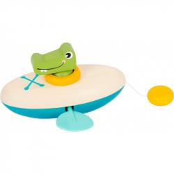 Small Foot Vodné hračka krokodíl kanoe