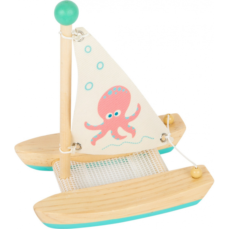 Small Foot Vodné hračka katamarán chobotnice