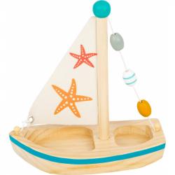 Small Foot Vodné hračka plachetnica hviezdice